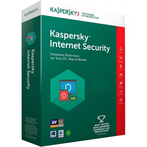 KASPERSKY INTERNET SECURITY 2018 TÜRKÇE 4 KUL 1YIL