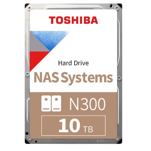 10TB TOSHIBA N300 7200RPM SATA 256MB HDWG11AUZSVA
