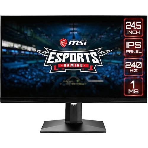 MSI Optix MAG251RX 24.5 1920x1080 240Hz HDMI DP Type-C 1ms G-Sync HDR Ready Esports Gaming Monitör