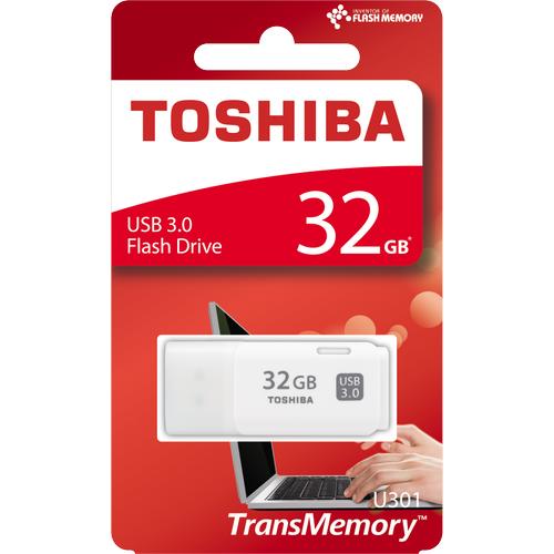 32GB USB3.0 BEYAZ HAYABUSA TOSHIBA THN-U301W0320E4
