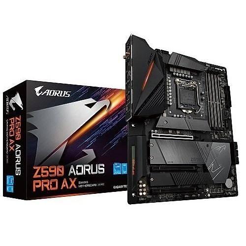 GIGABYTE Z590 AORUS PRO-AX DDR4 5400 OC ATX 1200p