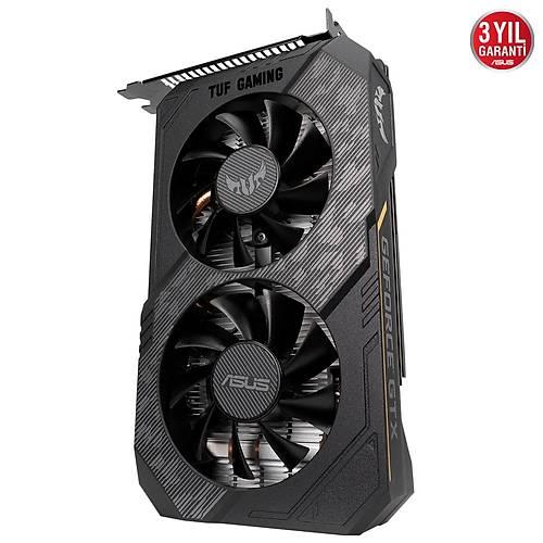 ASUS TUF GAMING GTX 1650 OC 4GB GDDR6 128Bit DX12 Nvidia (TUF-GTX1650-O4GD6-P-GAMING)