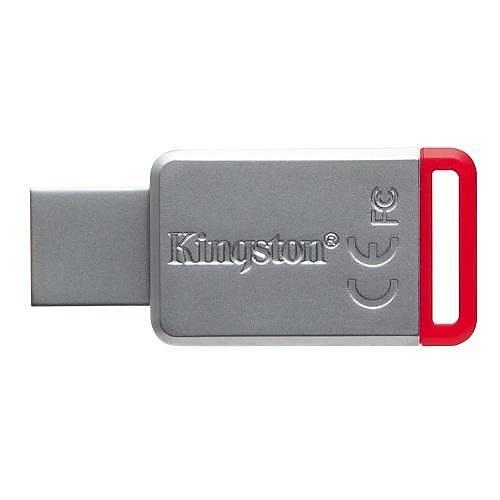 32GB USB3.1 DT50/32GB KIRMIZI METAL KASA KIGSTON