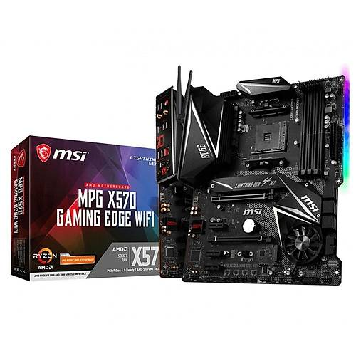 MSI MPG X570 GAMING EDGE WIFI DDR4 4400(OC)MHZ AM4
