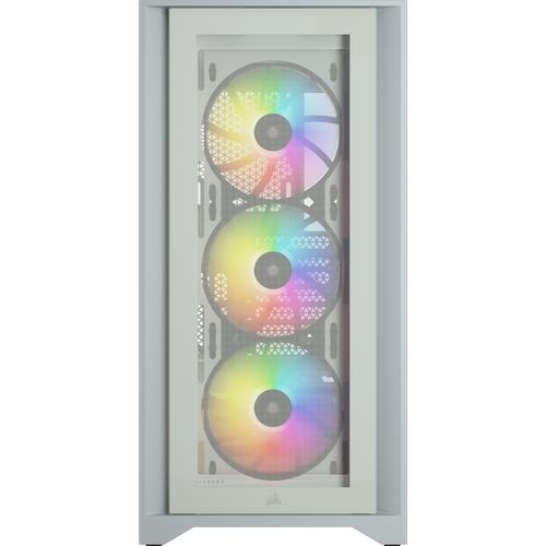 CORSAIR 4000X iCUE RGB CC-9011205-WW WHITE KASA