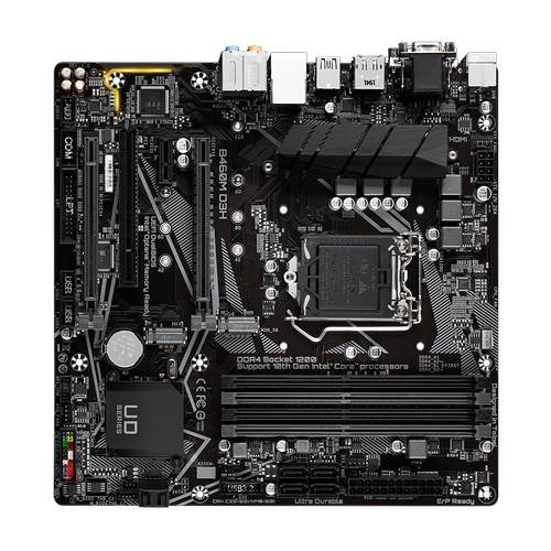 GIGABYTE B460M D3H DDR4 2933Mhz HDMI 1200p