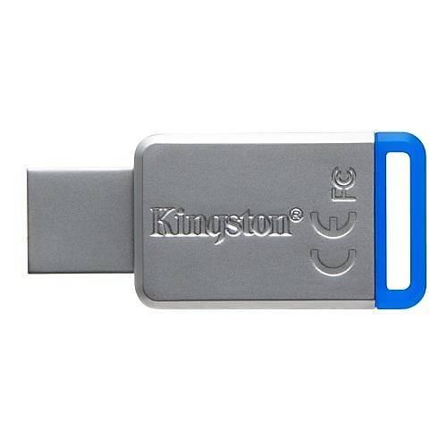 64GB USB3.1 DT50/64GB MAVÝ METAL KASA KIGSTON
