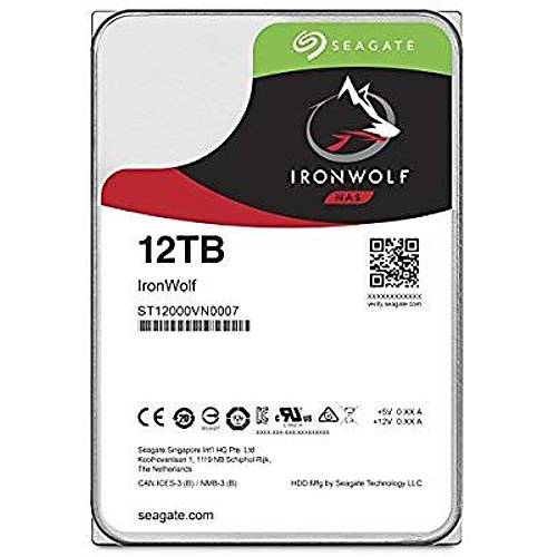 12TB SEAGATE IRONWOLF 7200 256M NAS ST12000VN0007