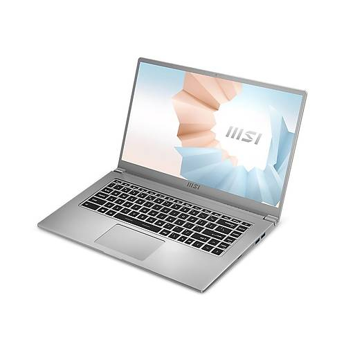 MSI NB MODERN 15 A5M-022XTR R5-5500U 8GB DDR4 UMA 256GB SSD 15.6 FHD DOS KOYU GRI