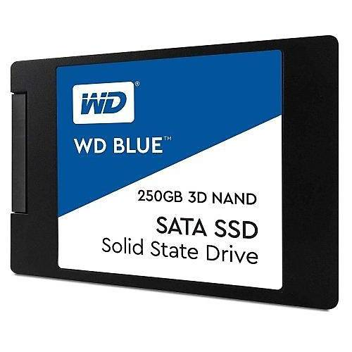 """250GB WD BLUE 2.5"""" WDS250G2B0A SSD"""