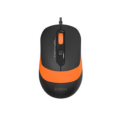 A4 TECH FM10 OPTIK MOUSE USB TURUNCU 1600 DPI