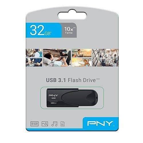 32 GB USB 3.1 PNY ATTACHE 4 USB FLASH BELLEK