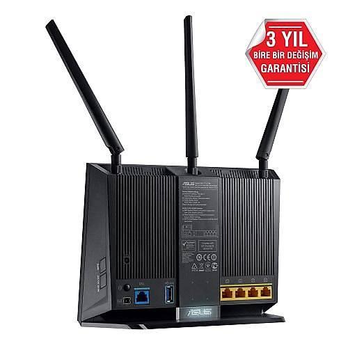 ASUS DSL-AC68U 4PORT 1900Mbps KBLSZ MODEM ROUTER