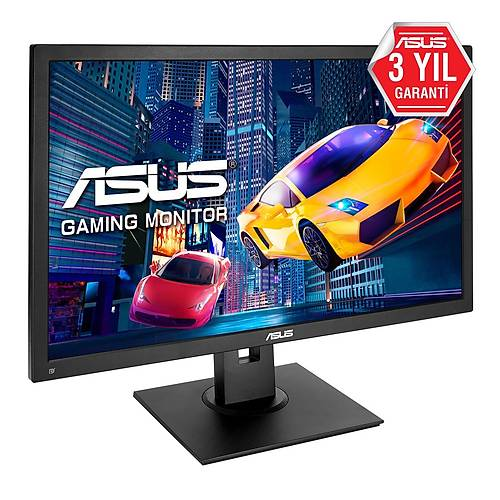 ASUS VP248QG 24 GAMING LED FREESYNC 1920x1080 1MS 75HZ DP HDMI VGA MM VESA 3YIL EYECARE. FLICKER-FREE.DUSUK MAVI ISIK