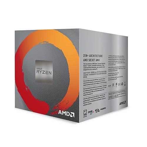 AMD RYZEN 5 3400G 3.70GHZ 6MB AM4 FANLI