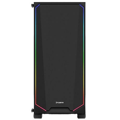 ZALMAN K1 TEMPERED RGB FAN ATX MIDT KASA