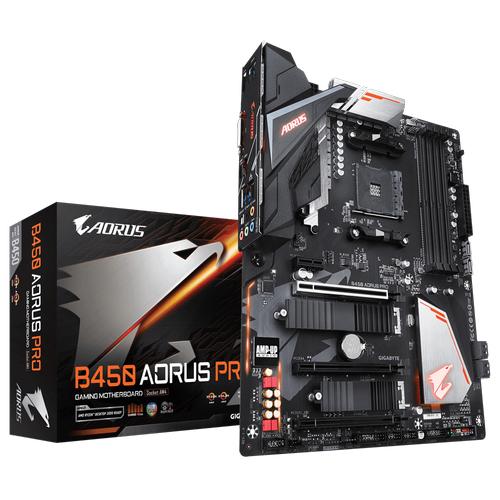 GIGABYTE B450 AORUS PRO DDR4 ATX AM4