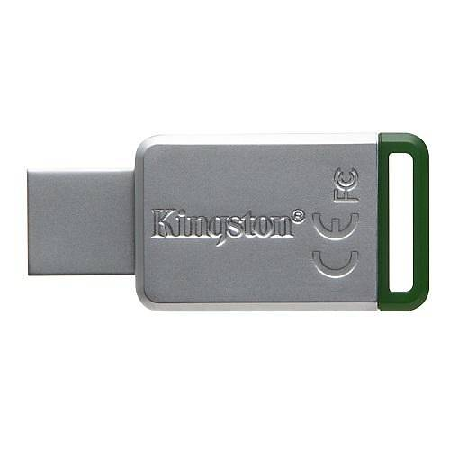 16 GB USB 3.1 DT50/16G METAL YEÞÝL KINGSTON