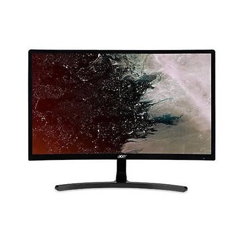 23.6 ACER ED242QRABidpx FHD AMD LED 4MS 144HZ FreeSync 250 Nits (HDMI, DVI, DP) CURVED GAMING SÝYAH MONÝTÖR