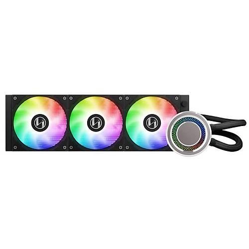 Lian Li Galahad AIO 360 Black 360mm RGB Siyah Ýþlemci Sývý Soðutucu