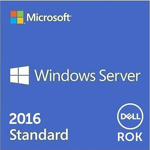 DELL WINDOWS SERVER 2016 STANDART ROK W2K16STD