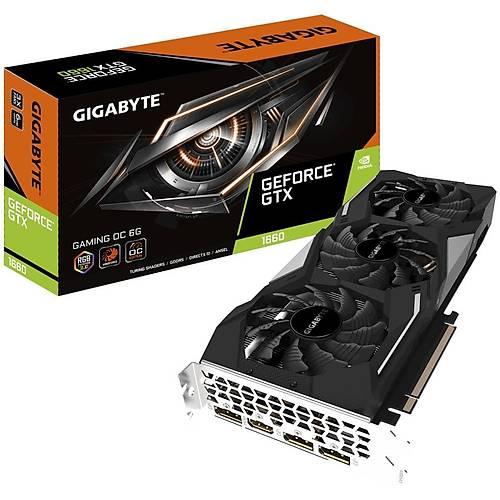 GIGABYTE GV-N1660GAMING OC-6GD OC 6GB GDDR6 192Bit