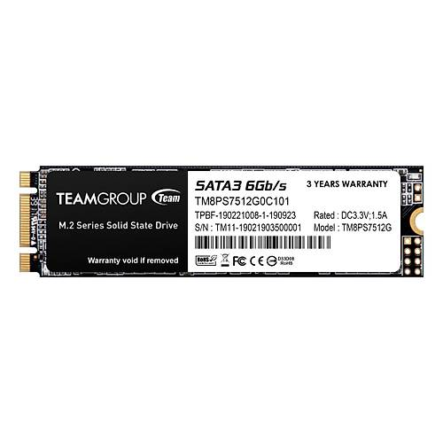 512 GB TEAM MS30 530/430MB/s  SATA M.2 2280 SSD