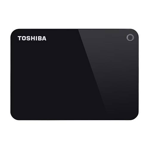 1TB CANVIO ADVANCE 2.5 USB3.0 TOSHIBA HDTC910EK3AA SÝYAH