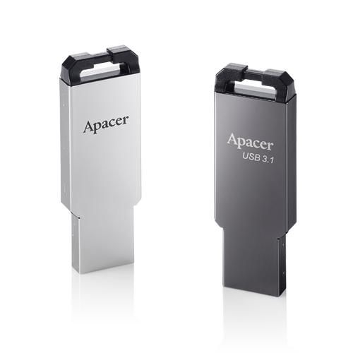 64 GB APACER AH360/64 GB METAL KASA GEN1 USB3.1 AP64GAH360A-1
