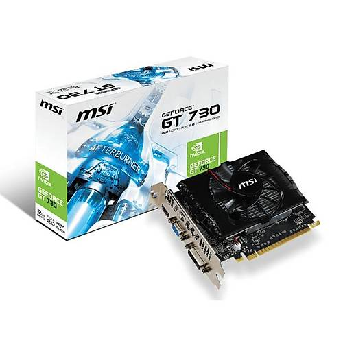 MSI VGA N730 2GD3V2 GT730 2GB DDR3 128B DX12 PCIE 3.0 X16 (1XVGA 1XDVI 1XHDMI)