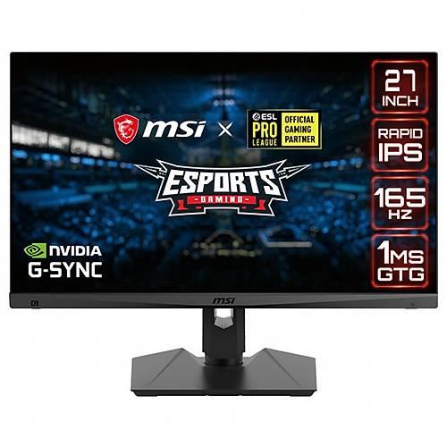 MSI Optix MAG274QRF 27 2560x1440 165Hz Hdmý Dp 1ms G-Sync Gaming Monitör