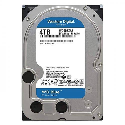 4TB WD Blue SATA3 5400rpm 64MB WD40EZAZ