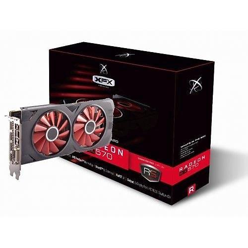 XFX XXX EDITION RX 570 4GB GDDR5 256BÝT 570P4DFD6