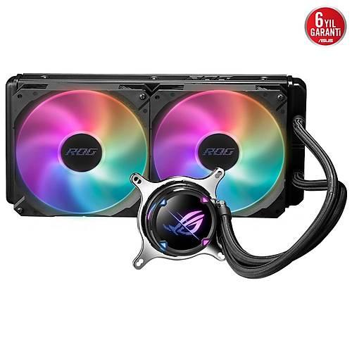 Asus ROG Strix LC II 280 ARGB Aura Sync Dual 2x140mm Adreslenebilir Fan Sývý CPU Soðutucusu