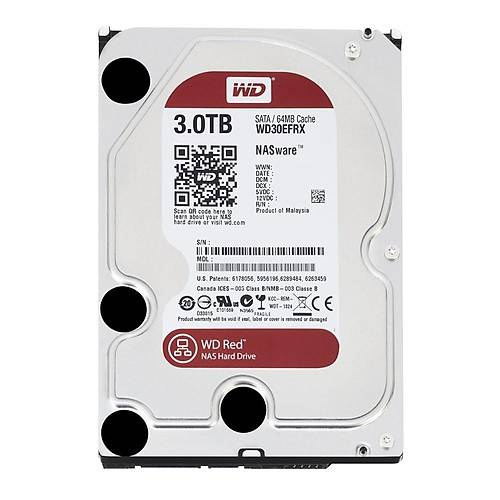 3TB WD Red Intellipower SATA6 64MB WD30EFRX