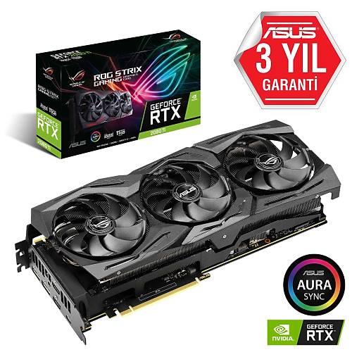 ASUS ROG-STRIX-RTX2080TI-A11G-GAMING 11GB GDDR6 HDMI DP 352Bit