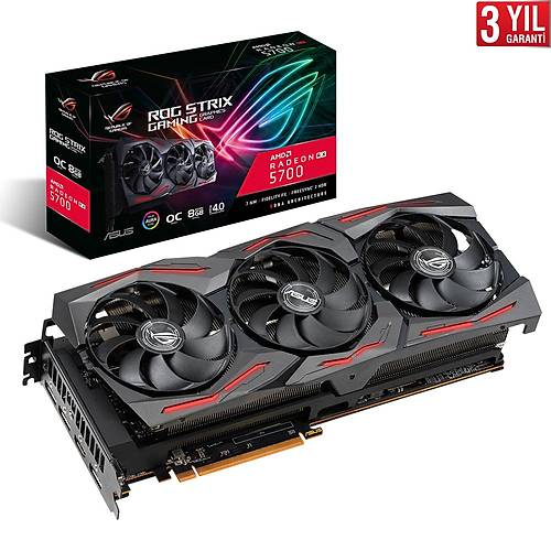 ASUS ROG-STRIX-RX5700-O8G-GAMING 256Bit 8GB DDR6
