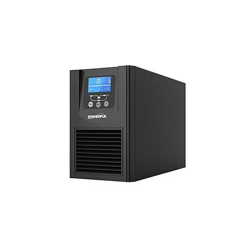 POWERFUL PSE-1101 1KVA UPS 4-10DK LCD EKRAN KESÝNTÝSÝZ GÜÇ KAYNAÐI