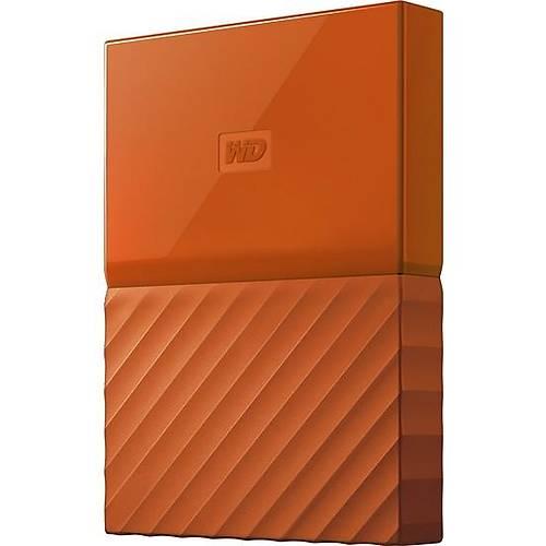 "1TB WD 2.5"" USB3.0 MY PASSPORT TURUNCU WDBYNN0010BOR-WESN"