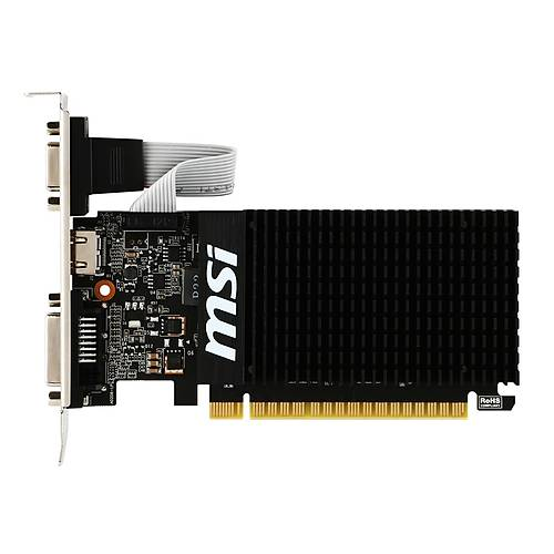 MSI VGA GT 710 1GD3H LP GT710 1GB DDR3 64B DX12 PCIE 3.0 X16 (1XVGA 1XDVI 1XHDMI)