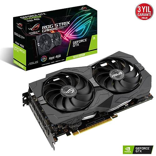ASUS ROG-STRIX-GTX1650S-A4G-GAMING 4GB GDDR6 HDMI DP 128Bit
