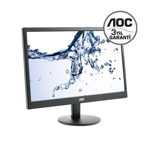 18.5 AOC E970SWN LCD 5MS VGA SÝYAH