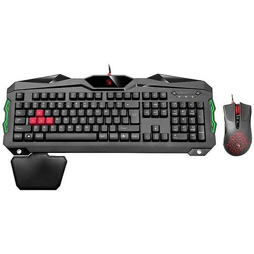 BLOODY B2100 Q GAMER MM SET SÝYAH USB