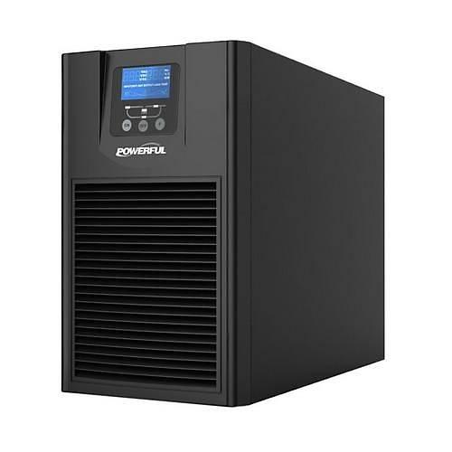 POWERFUL UPS PSE-1103 3KVA 4-10 DK LCD EKRAN KESÝNTÝSÝZ GÜÇ KAYNAÐI