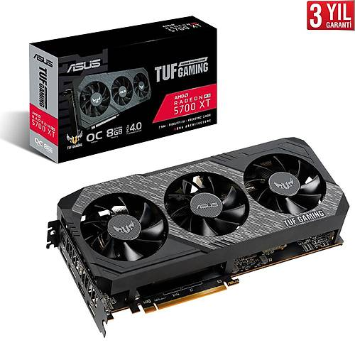 ASUS TUF 3-RX5700XT-O8G-GAMING 256Bit 8GB DDR6