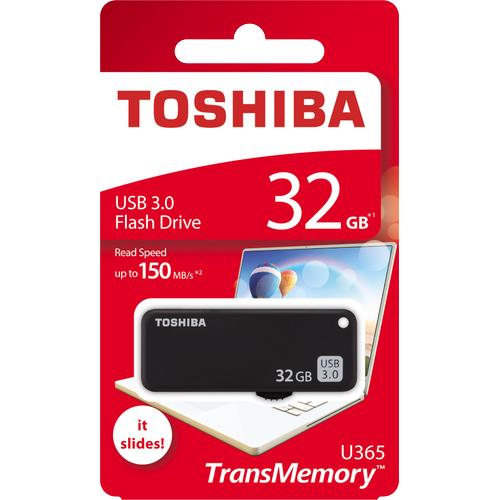 32GB USB3.0 SÝYAH YAMABIKO TOSHIBA THN-U365K0320E4