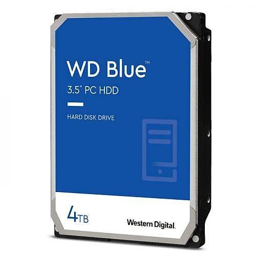 4TB WD Blue SATA6 5400rpm 64MB WD40EZRZ