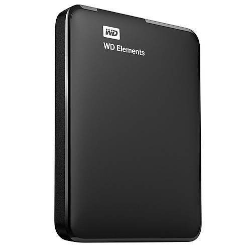 "1TB WD 2.5"" USB3.0 ELEMENTS SÝYAH WDBUZG0010BBK-WESN"