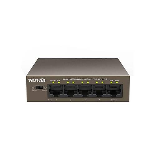 TENDA TEF1105P 5port 10/100 4port PoE 58W Switch