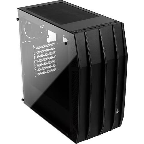 AEROCOOL KLAW 3x12CM FAN USB3.0 PENCERELI ATX SIYAH KASA (AE-KLAW)